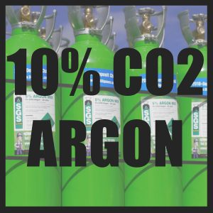 10% CO2/Argon Cylinders
