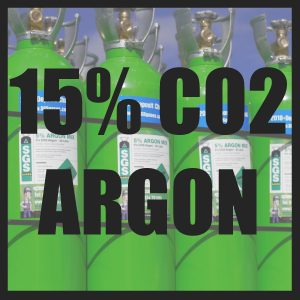 15% CO2/Argon Cylinders