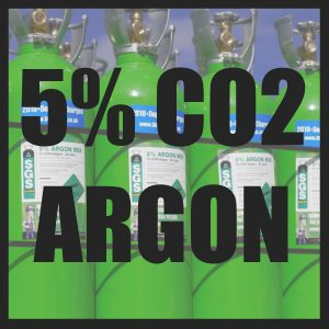 5% CO2/Argon Cylinders