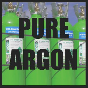 Pure Argon Cylinders